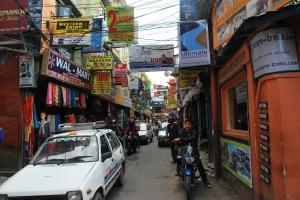 stradă în Kathmandu