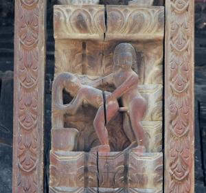 sculpturi erotice in Bhaktapur