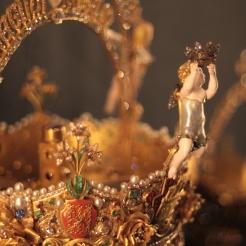 a doua perlă din lume, ca mărime (corpul îngerului)